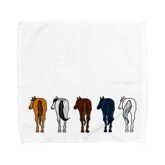 【うまけつ】サラブレッド Towel handkerchiefs