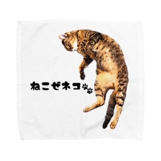 ねこぜネコ Towel handkerchiefs