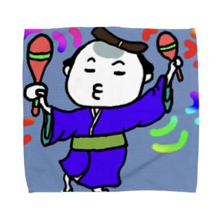 サムライちゃん★ユルユルダスシング! Towel handkerchiefs