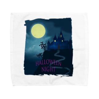 Halloween night Towel handkerchiefs