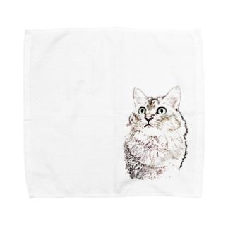 何か用? Towel handkerchiefs