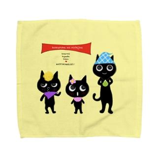 コクロ家の日常。 Towel handkerchiefs