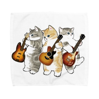 君のために歌う「ニャー」 Towel handkerchiefs