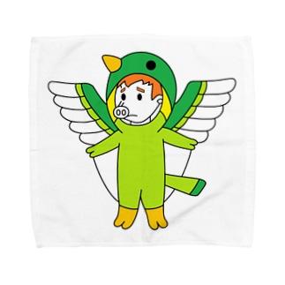 ブタトギス(天然記念豚) Towel handkerchiefs