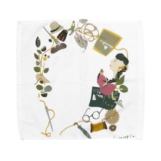 KODAWARIのいと Towel handkerchiefs