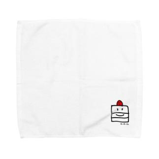 ケーキくん Towel handkerchiefs