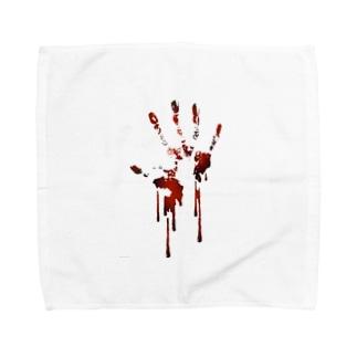 手跡 Towel handkerchiefs