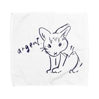 アルジャン Towel handkerchiefs