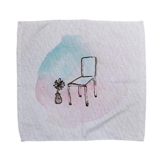 椅子とポン酢のハンカチ Towel handkerchiefs