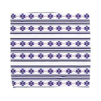 ネイティブ柄 Towel handkerchiefs