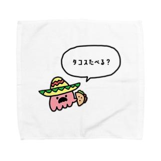 メキシカンタコさん Towel Handkerchief