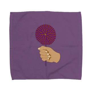 ハロウィンロリポップ Towel handkerchiefs