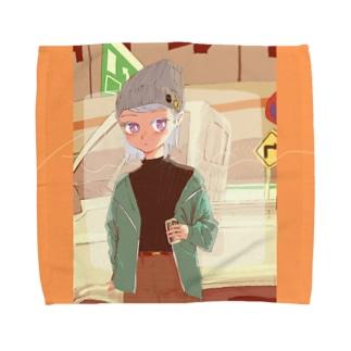 首都高と軽トラ Towel Handkerchief