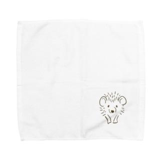 ハリネズミのトト🦔 Towel handkerchiefs