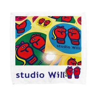 studio Will×INGRIDタオルハンカチ_A Towel handkerchiefs