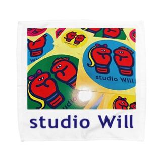 studio Will×INGRIDタオルハンカチ_B Towel handkerchiefs