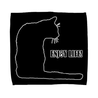 CAT_23_1W_BL Towel handkerchiefs