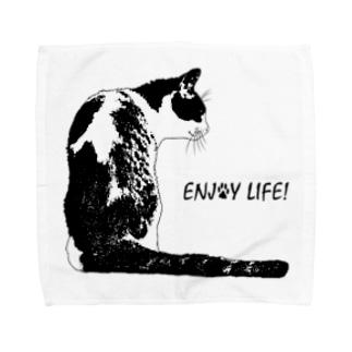 CAT_21_1_BL Towel handkerchiefs