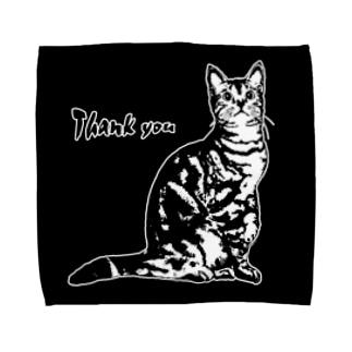 CAT_9_1W_BL Towel handkerchiefs