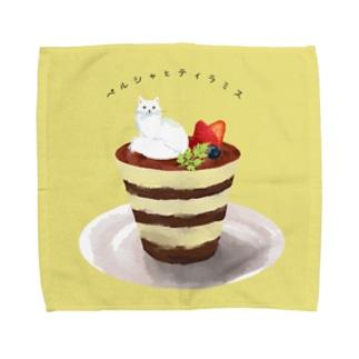 ペルシャとティラミス Towel handkerchiefs
