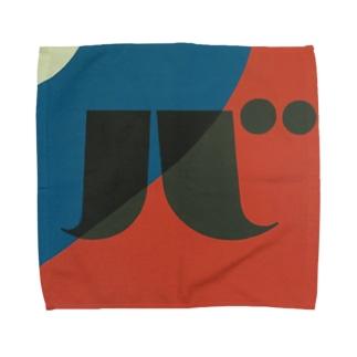 Kaleidoscope 万華鏡 Katakana series バ Towel handkerchiefs