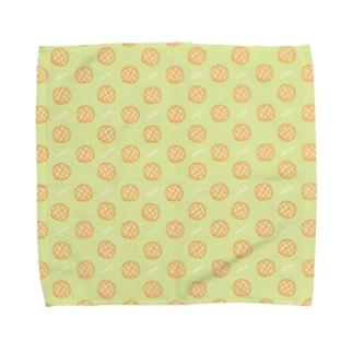 おいしそうなメロンパン Towel handkerchiefs