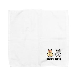 ハムスターの会 公式グッズ Towel handkerchiefs