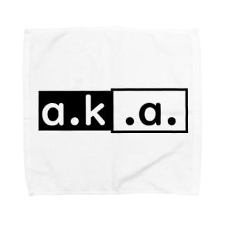 株式会社a.k.a. 創立記念アイテム Towel handkerchiefs