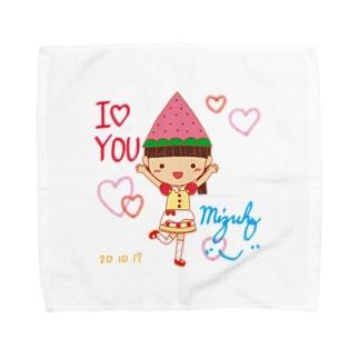 バースデーみーたん♪ Towel handkerchiefs