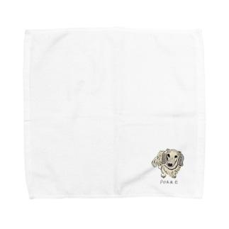 ぽっけくん 02 Towel handkerchiefs