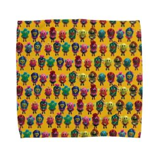 KT Lucha Monsters T-shirts Towel handkerchiefs