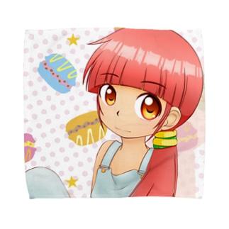お菓子少女 C Towel handkerchiefs