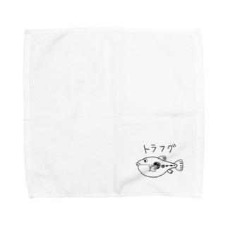 トラフグくん Towel handkerchiefs