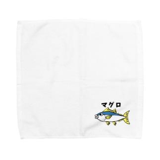 マグロくん Towel handkerchiefs