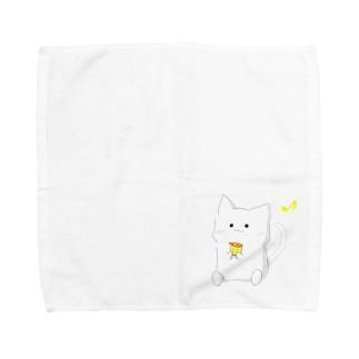 かもめ二曹おやつタイム Towel handkerchiefs
