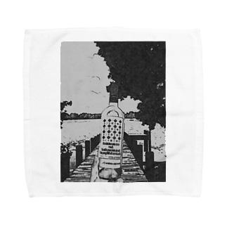 "Salida del sol""世界を股に掛けよ"" Towel handkerchiefs"