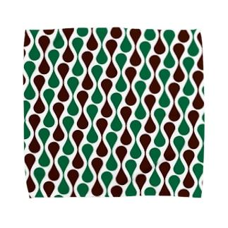 レトロパターン Towel handkerchiefs