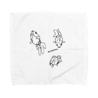 ぷーかぷか Towel handkerchiefs