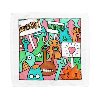 毎日イラストセレクション No.002 Towel handkerchiefs