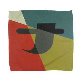 Kaleidoscope 万華鏡 Katakana series ナ Towel handkerchiefs