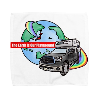 The Earth Is Our Playground  Towel handkerchiefs