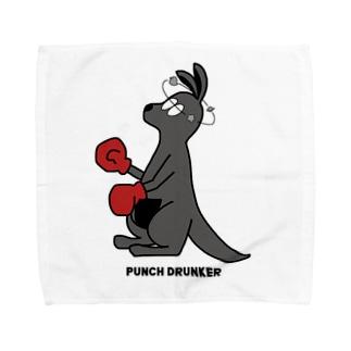 PUNCH DRUNKER Towel handkerchiefs