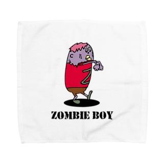 ゾンビ少年 Towel handkerchiefs