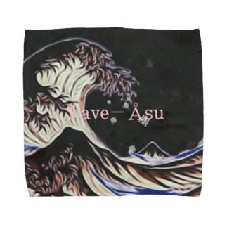 塵[garbage ] Towel handkerchiefs