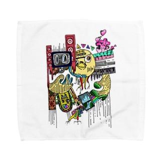 ヒヨコ(カラー) Towel handkerchiefs
