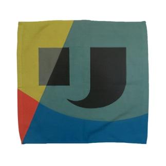 Kaleidoscope 万華鏡 Katakana series リ Towel handkerchiefs