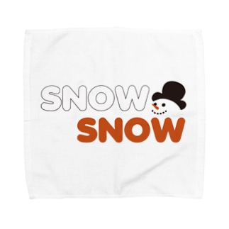 スノースノー Towel handkerchiefs