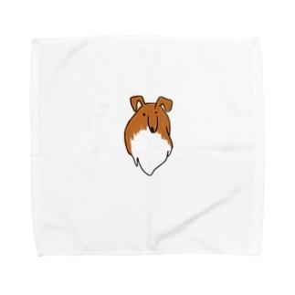 popokoroのシェルティーニョ Towel handkerchiefs