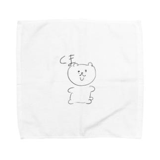 くまちゃん Towel handkerchiefs