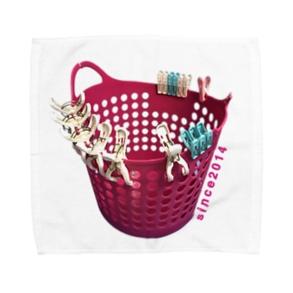 洗濯かごsince2014 Towel handkerchiefs